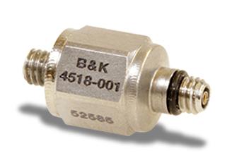 丹麦B&K 4518-001加速度计