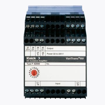 VariTrans P 42000 TRMS真均方根测量的AC/DC