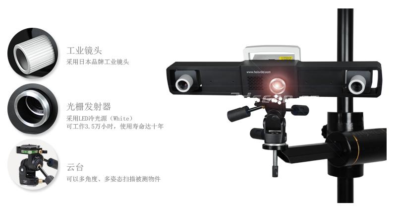 超大幅面三维扫描仪W3000