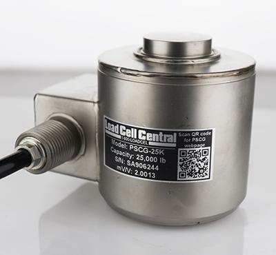 型号PSCG碳罐称重传感器-不锈钢