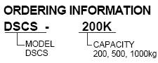 Bongshin DSCS轮辐式称重传感器,DSCS称重传感器