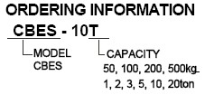 Bongshin CBES微型压式称重传感器,CBES称重传感器