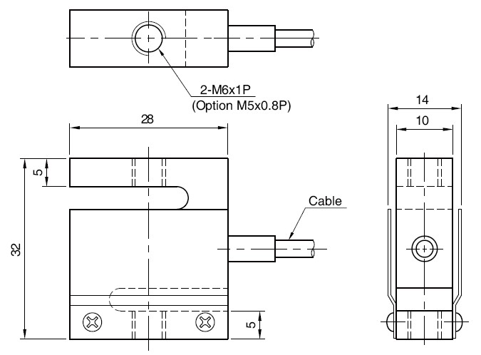 Bongshin DBCM S型称重传感器,DBCM称重传感器